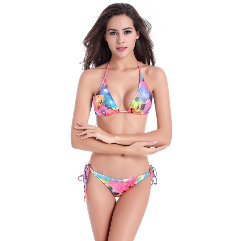 edb13385a Free Flower Plus Size bathing suit cover ups Women's bikini swimwear cute  bathing suits womens bathing suits swimdress-in Bikinis Set from Sports ...