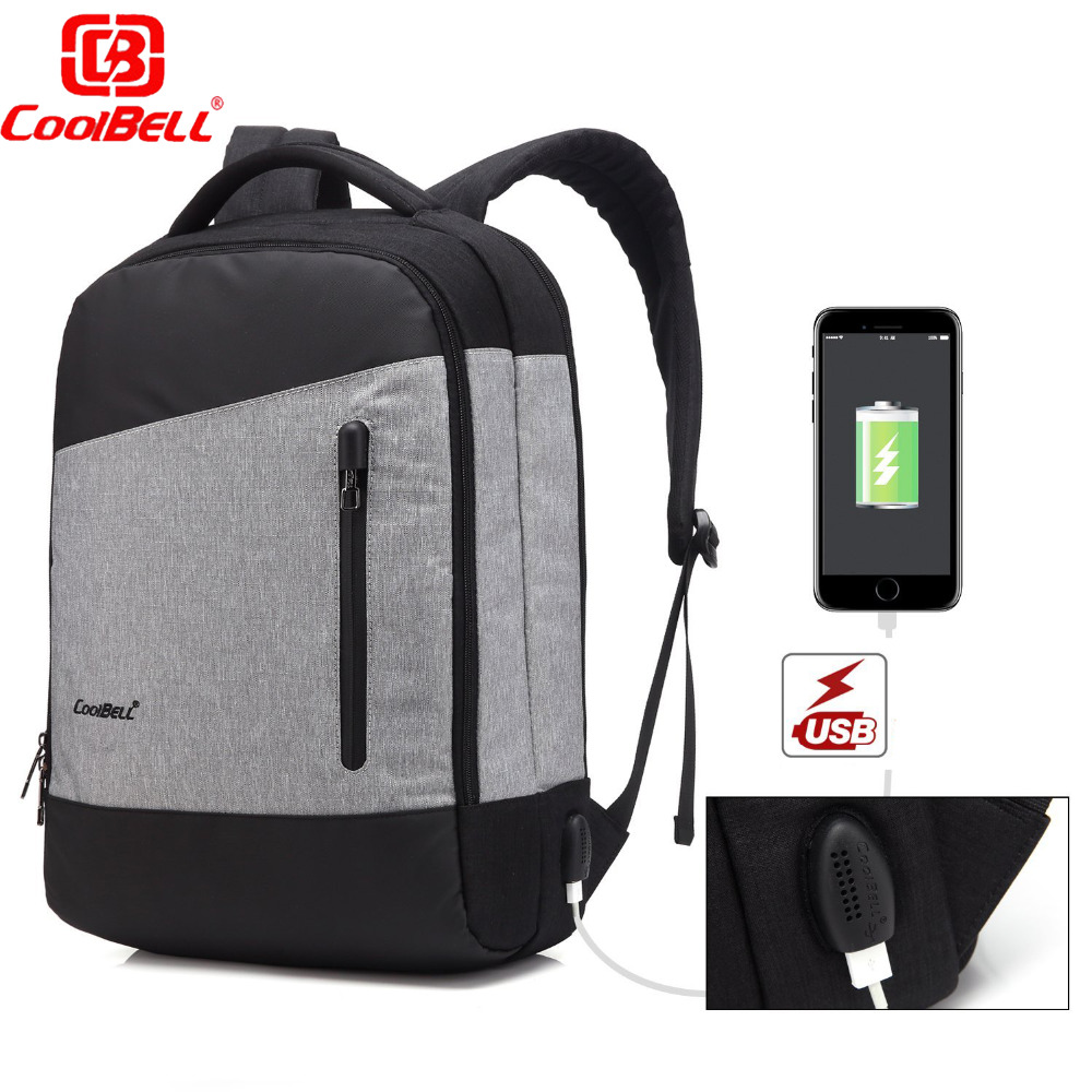 Brand Laptop bag 15.6 15 Inch Anti-theft Laptop Backpack  External USB Charge Compute Bags Knapsack school bags for teenagers fashional brand external usb charge anti theft backpack oxford bag for women 15 6inch waterproof laptop backpack with rain cover