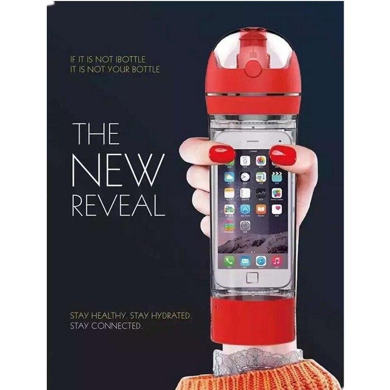 Fitness meraklıları ihtiyaçlar ile plastik su şişeleri BPA ücretsiz 480 ml yaratıcı açık spor fonksiyonlu uzay fincan