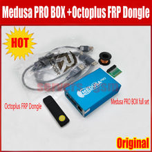 NEW 100% ORIGINAL Medusa PRO Box Medusa Box +Octoplus frp Dongle+JTAG Clip MMC For LG For Samsung For Huawei with Optimus cable(China)