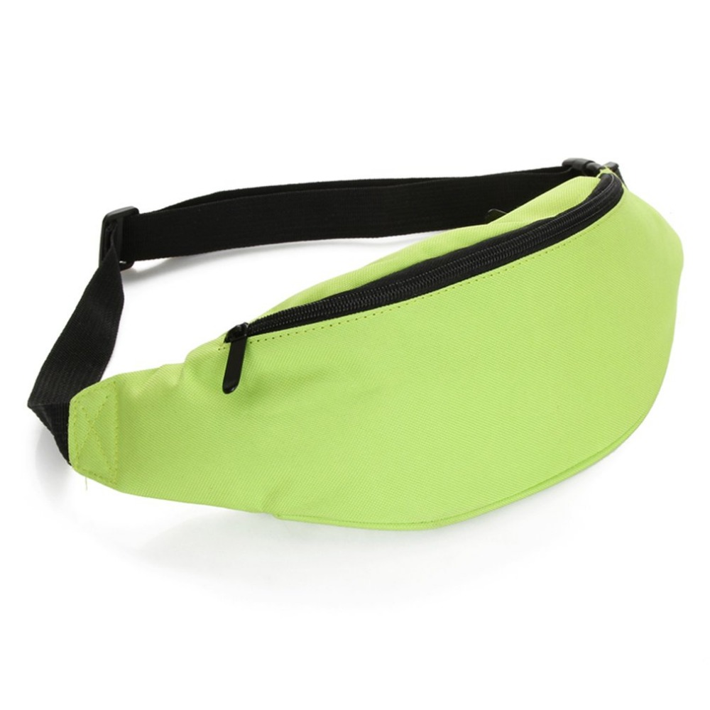 Multifunctional Solid Color Running Waist Bag Mobile Phone Bag Outdoor Fitness Bag All-match Style For Man Woman Small Flap Bag