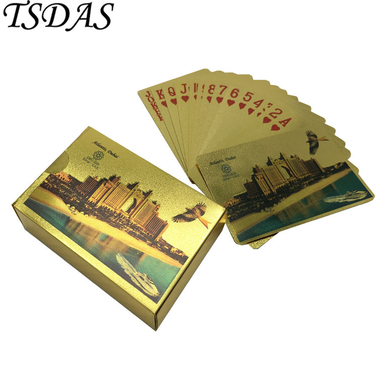 Gold Playing Card Embossed Atlantis Dubai Buildings Dubai: Online Buy Wholesale Novelty Gifts From China Novelty