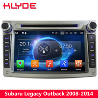 KLYDE 4G Wifi Octa Core 4GB RAM 32GB ROM Android 8.0 7.1 6.0 Car DVD Multimedia Player Radio For Subaru Legacy Outback 2009 2014