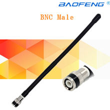 27MHz BNC Male Connector OEM Radio Antenna for Kenwood ICOM Motorola IC-V8 IC-V80 IC-V82 TK100 TK300 CP500 Walkie Talkie(China)