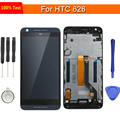 replacement For HTC desire 626 626G 626W Full LCD Display Touch Screen Digitizer Glass Frame Cover Assembly Black  White Blue