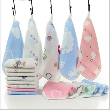6 layers cotton baby wipe towel 25 x 25cm absorbent and soft Towel Face handkerchief for girls boys Baby Bath shower
