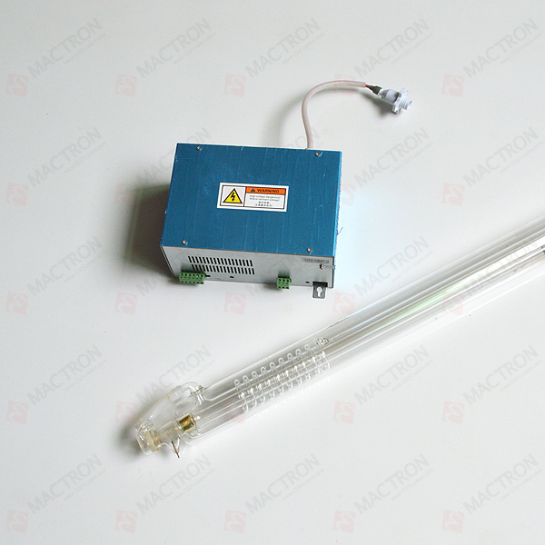 1pcs CO2 Laser Tube 60W y 1pcs Laser Power Supply 60W en venta