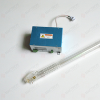 1pcs CO2 Laser Tube 60W and 1pcs Laser Power Supply 60W For Sale