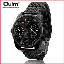 Oulm Wristwatch HT9316 Alloy Watch  Luxury Men Hot Sale Fashion Sport Quarts Bracelet Watch