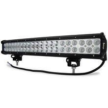 Safego 20 inch 126W LED Work Light Bar 24V trucks Combo Beam Off-Road Lamp For Tractor Boat SUV Auto Car ATV LED Light Bar 12V