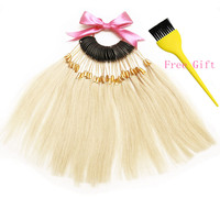 7 Inch Human Hair Color Ring 30pcs Set For Salon Hair Color Chart