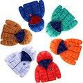12-24 M de La Moda Llegada Del Bebé Color de la Capa Chaquetas de Los Bebés Recién Nacidos Varones Enfant Chaqueta Otoño Invierno Niños Prendas de Abrigo ropa