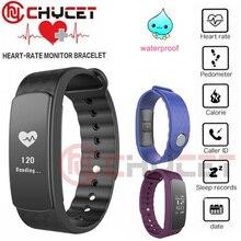 Chycet i3Hr Смарт Браслет Смарт-группа Фитнес трекер сердечного ритма Мониторы умный Браслет для IOS Android PK S2 DF23 D21
