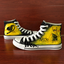 Fairy Tail Wen Hand Painted Unisex Shoes