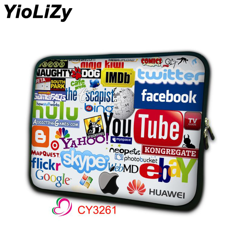 women laptop bag 7 9.7 11.6 13.3 14 15.6 17.3 inch notebook liner sleeve men protective case smart tablet pouch cover NS-3261