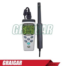 Sale FREE SHIPPING. TM-184 Precision Tmperature / Humidity Meter with Datalogging Function