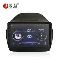 HANG XIAN 10 Quadcore Android 8.1 Car radio for HYUNDAI IX35 Tucson 2010 2016 car dvd player GPS navigation car multimedia