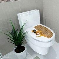 Zs Sticker 34* 46 cm sticker WC cover toilet pedestal toilets stool toilet lid sticker WC home decoration bathroom Accessories