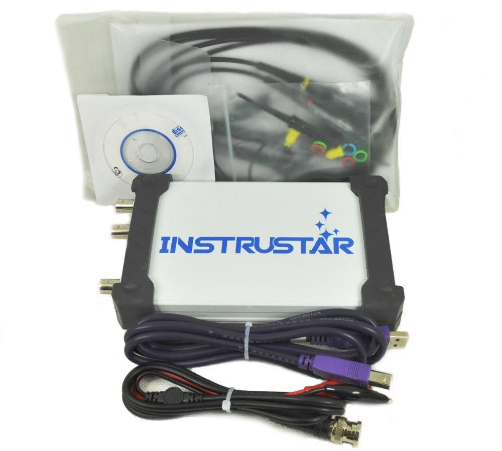 Virtual USB Oscilloscope 40M100MS//s Spectrum Analyzer DDS Signal Source Sweep
