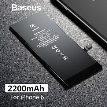 Baseus Original Phone Battery For iPhone 6 2200mAh High Capacity Replacement Batteries For iPhone 6 with Free Repair Tools