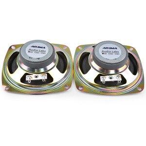 Image 5 - AIYIMA 2 adet 3.5 inç taşınabilir hoparlörler 4Ohm 8W tam aralık müzik ses hoparlörü sütun hoparlör DIY ev sineması için