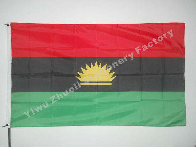 Biafra flag 150x90cm 3x5ft 120g 100d polyester double stitched biafra flag 150x90cm 3x5ft 120g 100d polyester double stitched high quality free shipping thecheapjerseys Image collections