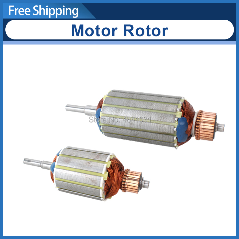 550w&400w Dc Brush Motor Rotor 220v&110v CJ0618/83ZYT001/83ZYT002/83ZYT007 Micro Lathe Motor Rotor