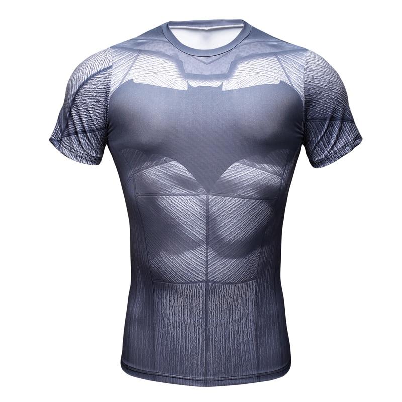 2016 Compressão Camisa Superman Capitão América homem De Ferro 3D T-Shirt  da Cópia de Super-heróis Da Marvel Comics Mens Camiseta Estilo 974485ebb9e02