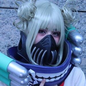 Image 4 - Cosroad Boku không có Của Tôi Anh Hùng Học Viện Himiko Toga Cosplay Mặt Nạ Tóc Giả Cosplay Đạo Cụ Phụ Kiện đối với Đảng Halloween