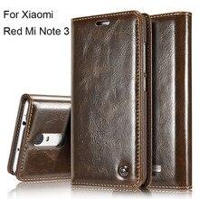 Люкс Ретро Флип Чехол Для Xiaomi RedMi Note 3 Case подлинная Натуральной Кожи Держатель Карточки Бумажника Телефон Case Redmi Note 3/Prime/Pro