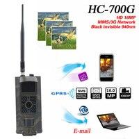 Vwinget HC700G 16MP 940nm Night Vision Hunting Camera 3G GPRS MMS SMTP SMS 1080P Wildlife Animal Trail Cameras Trap