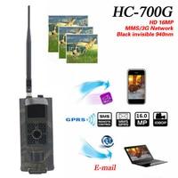 Vwinget HC700G 16MP 940nm Night Vision Hunting Camera 3G GPRS MMS SMTP SMS 1080P Wildlife Animal
