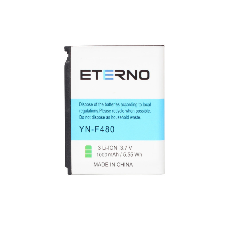 ETERNO AB553446CU Replacement Mobile Phone Battery For <font><b>Samsung</b></font> <font><b>F480</b></font> F488 F488E 920SE A76 A767 W569 W509 Phone Batteries 1000mAh image