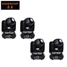 TIPTOP 4X40 W Doprowadziły Gobo Moving Head Wiązki Światła Sharpy Disco Etap Efekt Skanowania 16 Kąt świecenia 10/12 Kanały 100 W Wysokiej moc