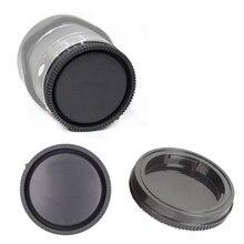 50 sztuk kamera tylna pokrywka obiektywu przeznaczona do obiektywów Sony NEX NEX 3 E do montażu