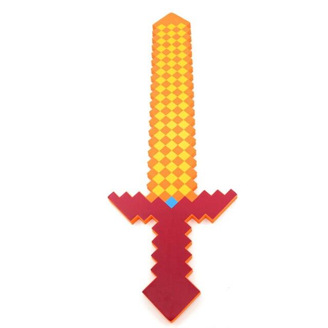 60 75 Cm Neueste Minecraft Spielzeug Bunte Minecraft Schwert Foam