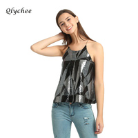 Qlychee Boêmio Sexy Cop 2017 Encabeça Mulheres Sem Mangas Oco Out Back Strap Camisole Camis Tanques Tops Geométrica Feminino