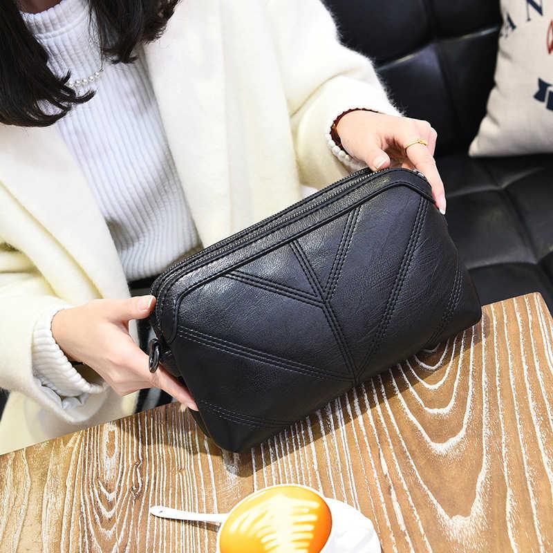 2020 Berkualitas Tinggi Wanita Tas Mewah Tas Messenger Lembut Pu Kulit Bahu Tas Fashion Wanita Tas Selempang Wanita Bolsas