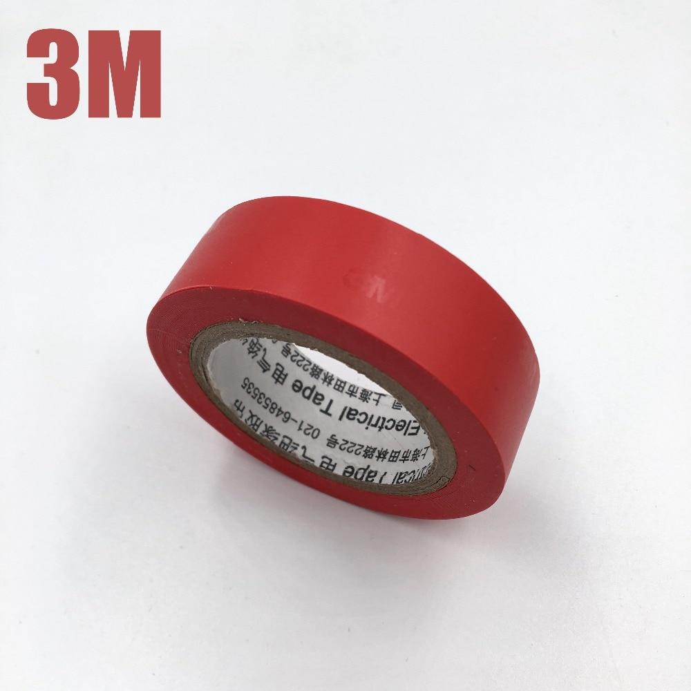Good Quality 1Pcs Black 3M 1500 Vinyl Electrical Tape Insulation Adhesive Tape