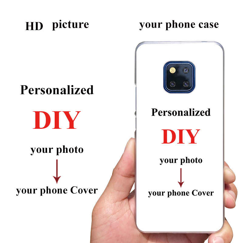 DIY Custom Design Phone Case for Huawei Mate 20X 20Pro 20Lite 10Lite S 10Pro 9Pro 9 Photo Cover Printed Customize Y9 Y7 Y5 Y6 Y3