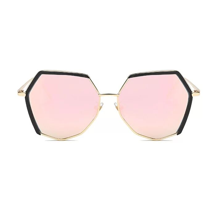 8213 Retro circular spectacle frames for men and women with flat lens sunglasses