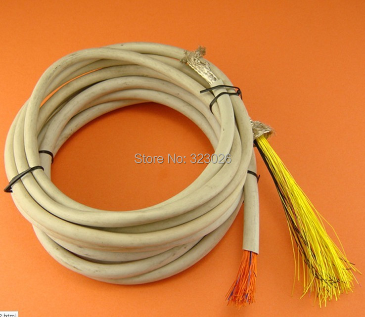Rainbow Goddess silver plated wire diy headphone wire fever Upgrade repair wire silver plated shielded wire ...