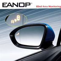 EANOP Auto Motorcycle Mirror Side Mirror blind Area Monitoring Alarm for Universal Cars