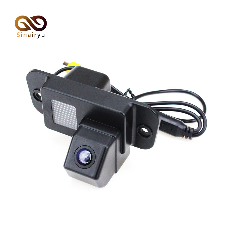 170 Degree CCD Car Rear View Reverse Backup Parking Camera