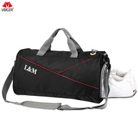 Vbiger Unisex Shoulder Bag Oxford Cloth Handbag Large Capacity Travel Crossbody Bag Multi Purpose With Shoes
