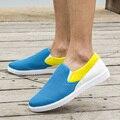 2016 Весна Мужчины Обуви Холст Обувь Новый Горячий Продажа Zapatos Hombre Мужские Моды Случайные Легкие Schoenen Парня Туфли-Чистой Пряжи Sapatos