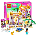 145pcs New Cute 10434 Princess Series Jasmine's Exotic Palace Building Brick Blocks Girls Friends Toys Compatible With Lego