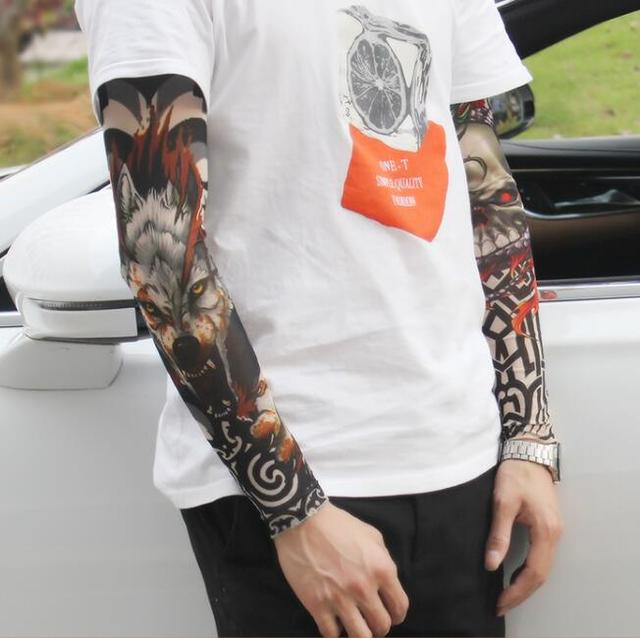 Tattoo sleeve Arm sleeves cover tattoos Uv protection Arm ...