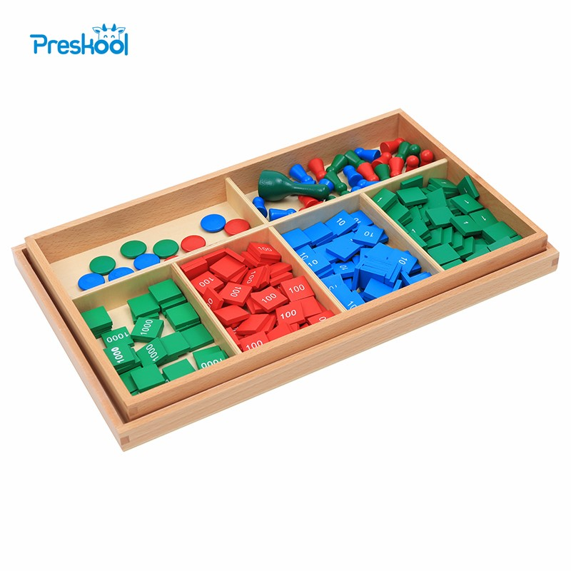 Baby Toy Montessori Stamp Game Math Good Quality Early Childhood Education Preschool Training Kids Toys Brinquedos Juguetes