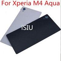 ISIU Phone Case For Sony Xperia M4 Aqua Rear Back Cover Glass Housing E2303 E2353 Mobile